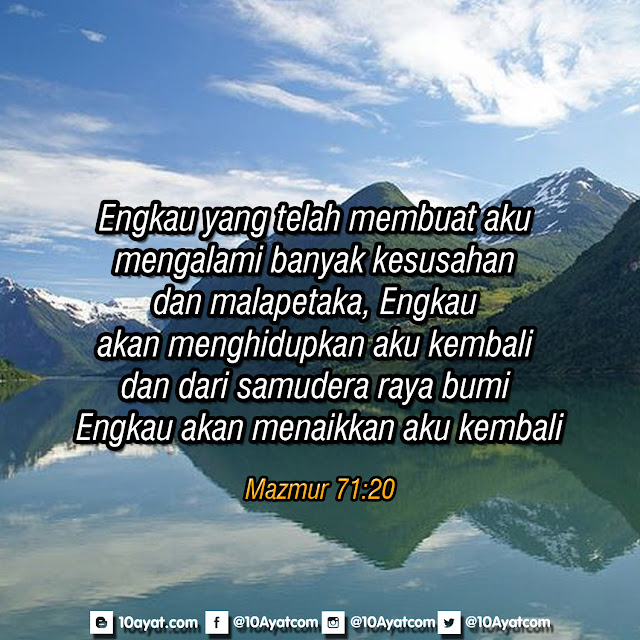 Mazmur 71:20