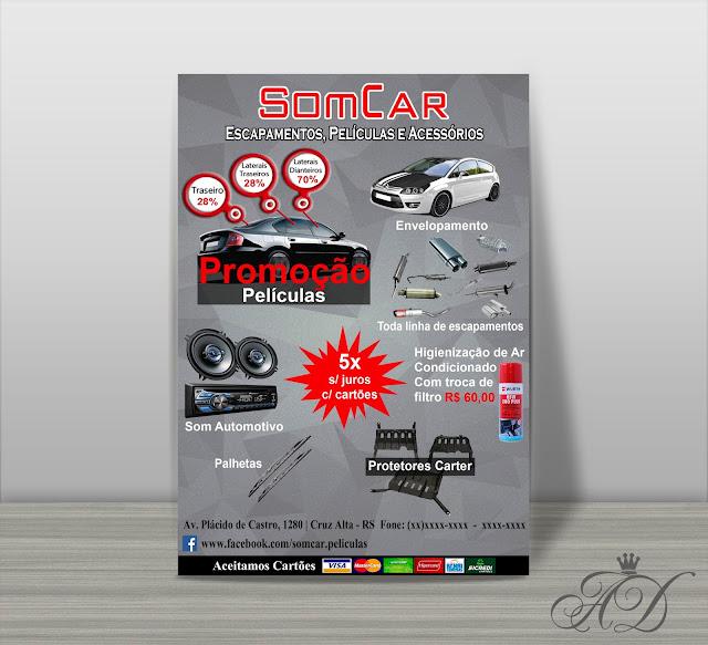 Panfleto Som Car