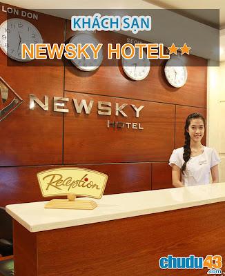 Khách sạn Newsky Hotel Đà Nẵng (Chudu43.com)