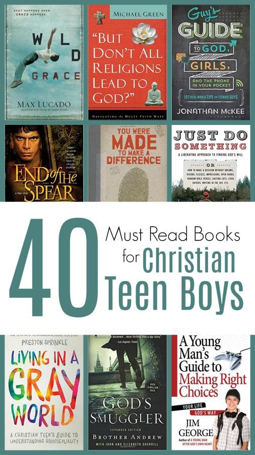 40+ MUST READ Books for Christian Teen Boys #reading #teenlit #christianteen #homeschooling #christianlit