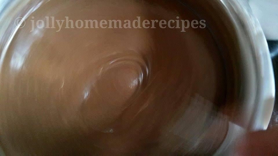 Simple Eggless Chocolate Cake