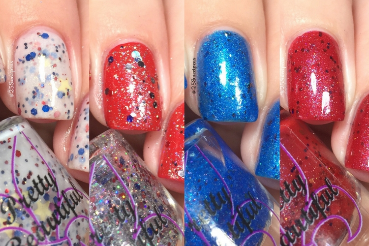 Pretty Beautiful Unlimited Fourth of July Polish