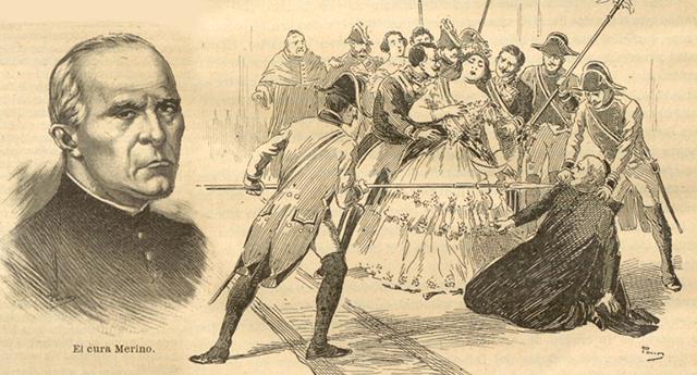 Martín Merino, el cura que apuñaló a la reina Isabel II