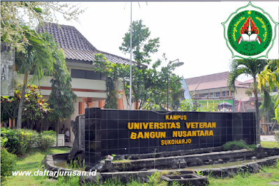 Daftar Fakultas dan Program Studi Universitas Veteran Bangun Nusantara Sukoharjo