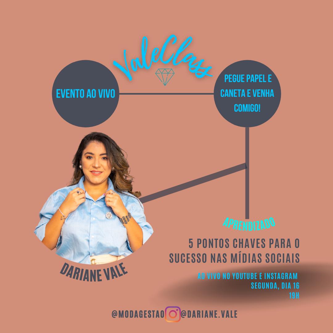 ValeClass: 5 pontos chave par o sucesso nas mídias sociais