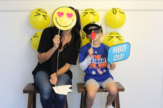 Emoji Photo Booth Props, Stilettos and Diapers