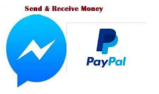 facebook messenger send reveive money with paypal