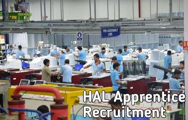 HAL Recruitment - 2000 Posts  of Apprentice and Faculty Posts