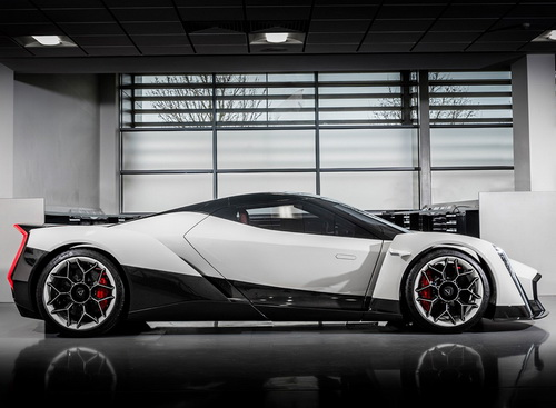 Tinuku.com Vanda Dendrobium electric hypercar from Singapore came to greet the world's future global e-mobility