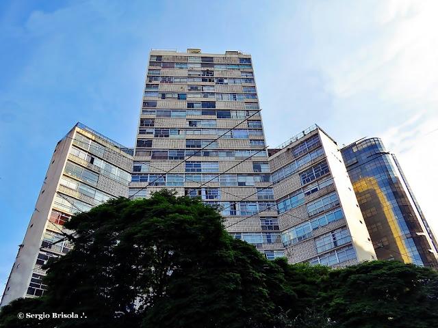 Fachada do Edifício Eiffel - Praça da República - Centro - São Paulo