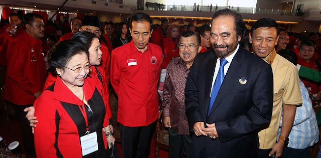 Gerindra Melunak Setelah Bertemu Megawati, Surya Paloh: Bagus Dong