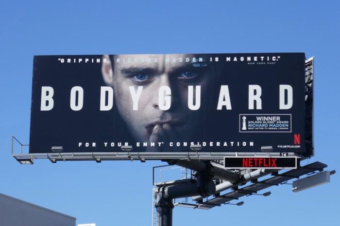 Bodyguard Netflix Emmy FYC billboard