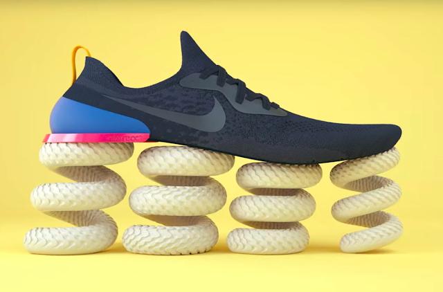 Nike thách thức Adidas với công nghệ React
