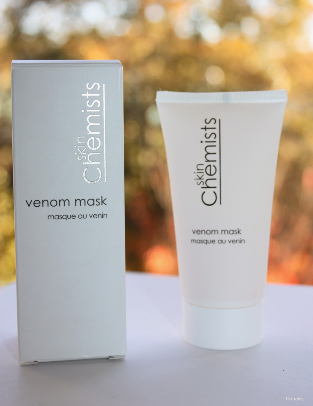 Masque au venin de serpent, venom mask SkinChemists