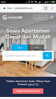 Temukan Apartemen Idealmu hanya Lewat Smartphone