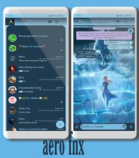 Girls & Horse Theme For YOWhatsApp & Fouad WhatsApp By Ave fénix