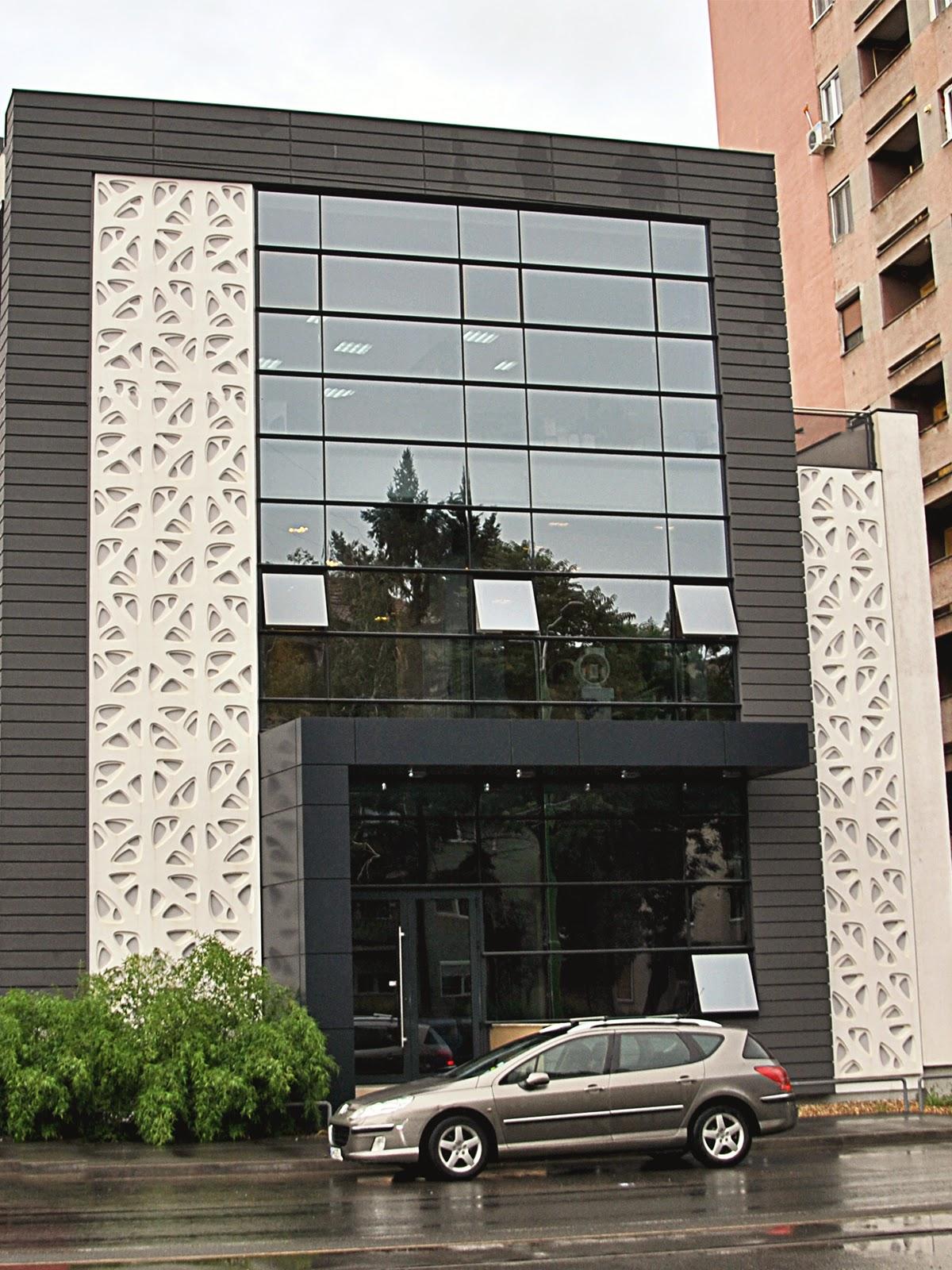 fatade blocuri cu panouri decorative moderne, profile decorative bloc