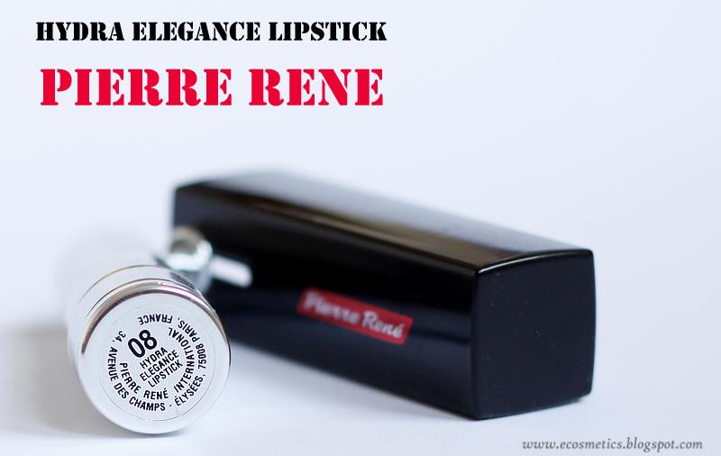 szminka w szpilkach: Pierre Rene, HYDRA ELEGANCE LIPSTICK, ta szminka jest całuśna
