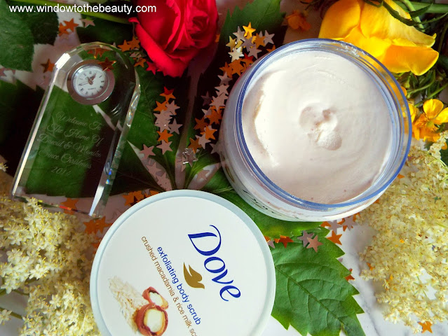 Dove Cream Shower Peeling Macadamia & Rice Milk opinion
