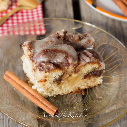 Cinnamon Roll Swirl Cake Incredible Recipes