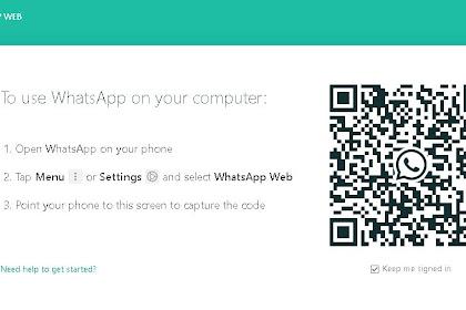 Wa Web, Cara Mudah Menggunakan WhatsApp Di Laptop