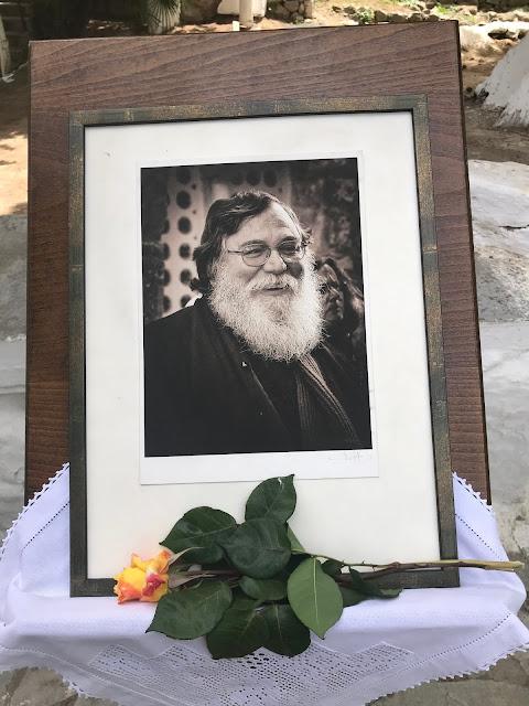 Ορχομενός : Σαρανταλείτουργο τελείται καθημερινά στην Παναγία η Σκριπού για την ανάπαυση της ψυχής του μακαριστού π. Χαράλαμπου Χατζηχαραλάμπους
