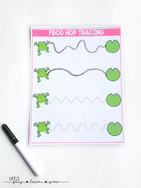 Spring Theme Prewriting Tracing Practice Spring Activity Binder