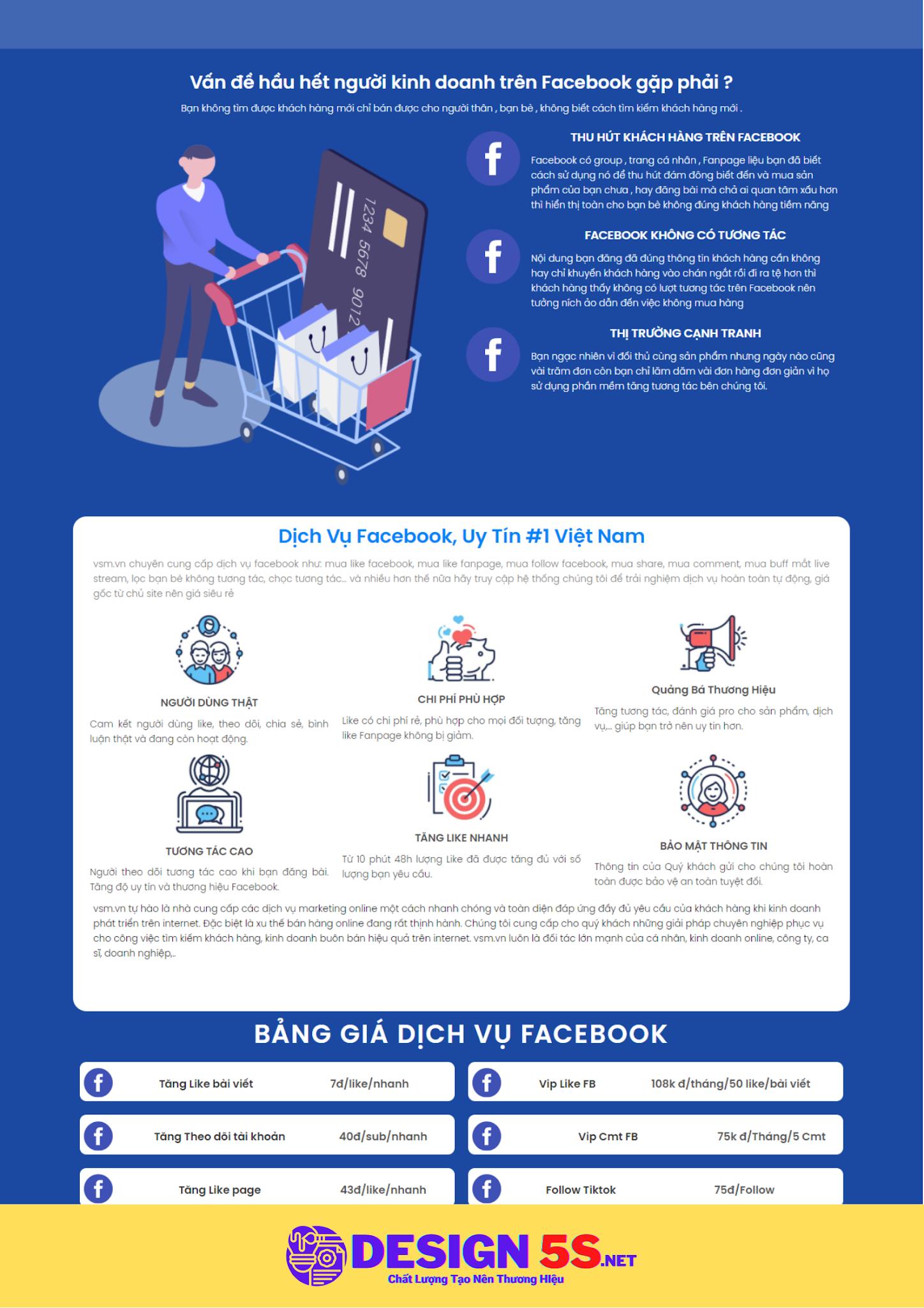 Template Blogspot Dịch Vụ Facebook, VSM48 - Ảnh 2