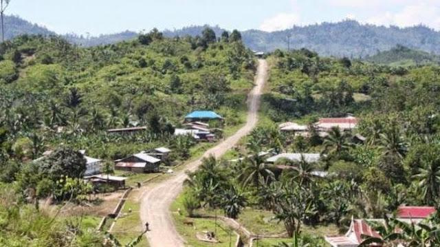 Desa perbatasan Indonesia Malaysia