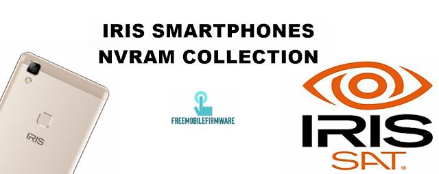 Iris Nvram collection all versions for repair network Emei تصليح الشبكة لهواتف إريس