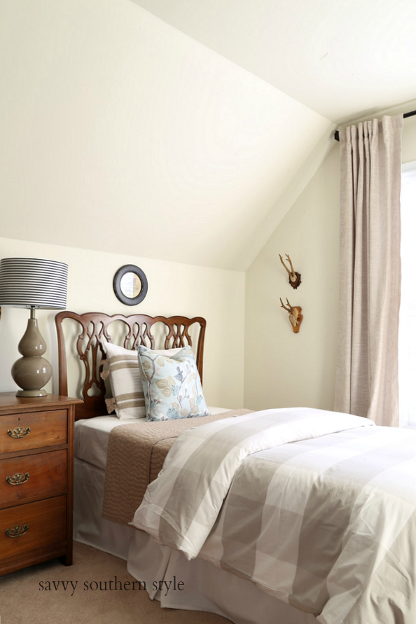 Spring Style Bedroom And How To Make A Bed Taller