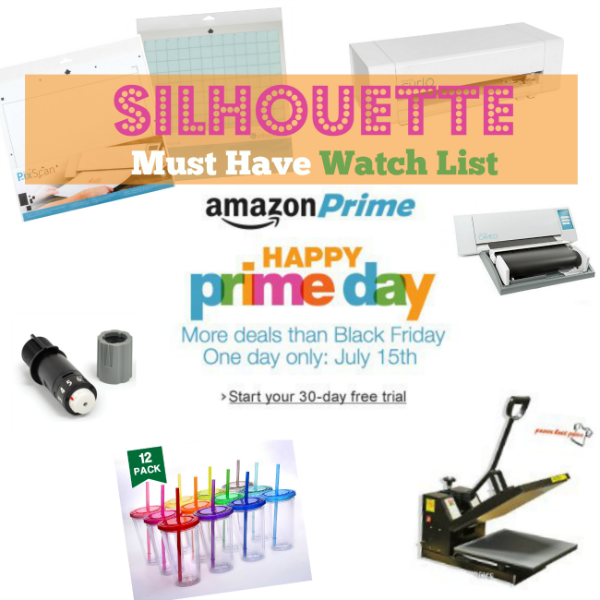 Silhouette, must have list, prime day 2015