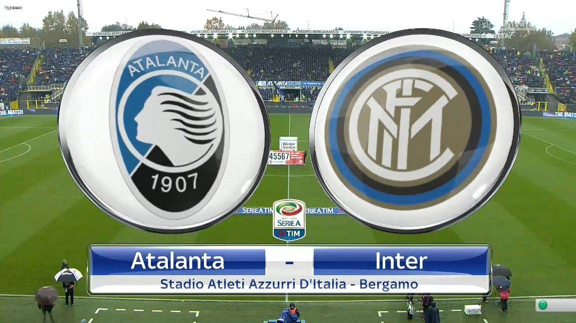 Atalanta-Inter in Diretta TV: info streaming calcio, anticipo di Oggi Serie A