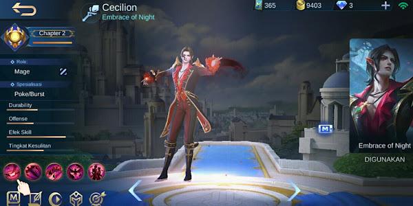 Tips GG Menggunakan Hero Cecilion