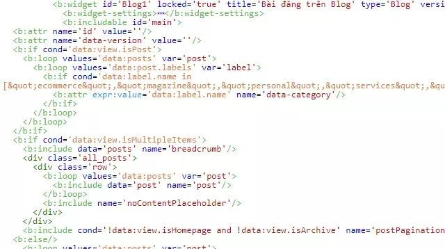 Tim hiểu về bộ lọc hiển thị bài đăng tại nhóm trang chỉ mục trong Blogger