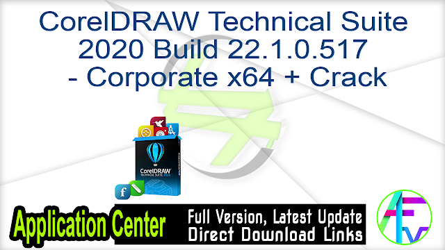 CorelDRAW Technical Suite 2020 Build 22.1.0.517 – Corporate x64 + Crack
