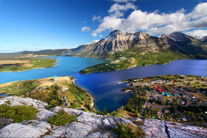 Waterton Lakes National Park of Canada