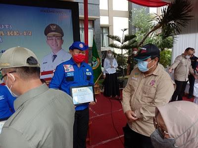 Kementerian Sosial RI, Hadiri HUT Tagana Ke-17 Di Banten