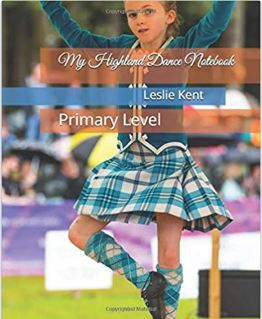 My Highland Dance Notebook Primary Level