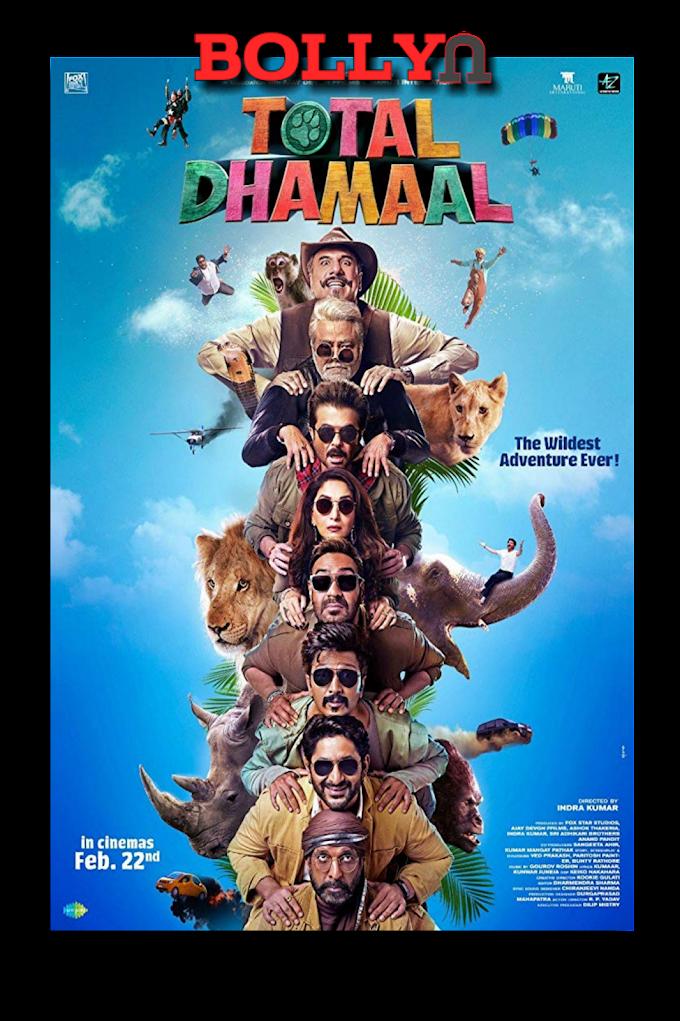 Total Dhamaal 2019[bollyu]1.1GB Hindi 720p