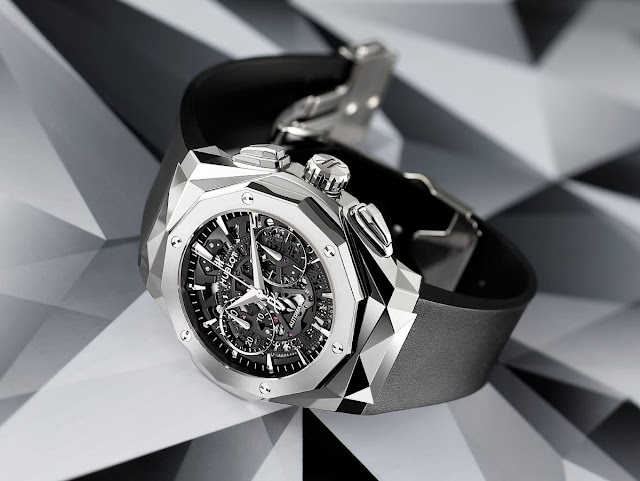 Hublot Classic Fusion Réplique Montre Aerofusion Chronographe Orlinski Titane De Luxe
