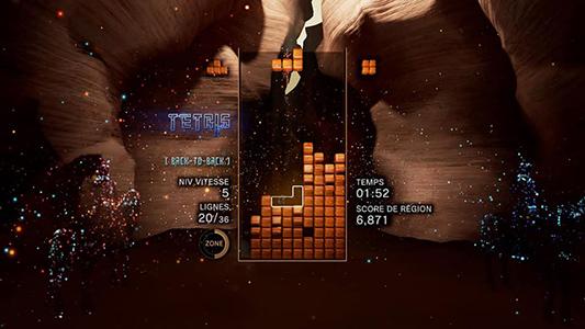 Tetris Effect Desert