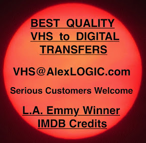VHS to Digital Transfers, Best Quality.