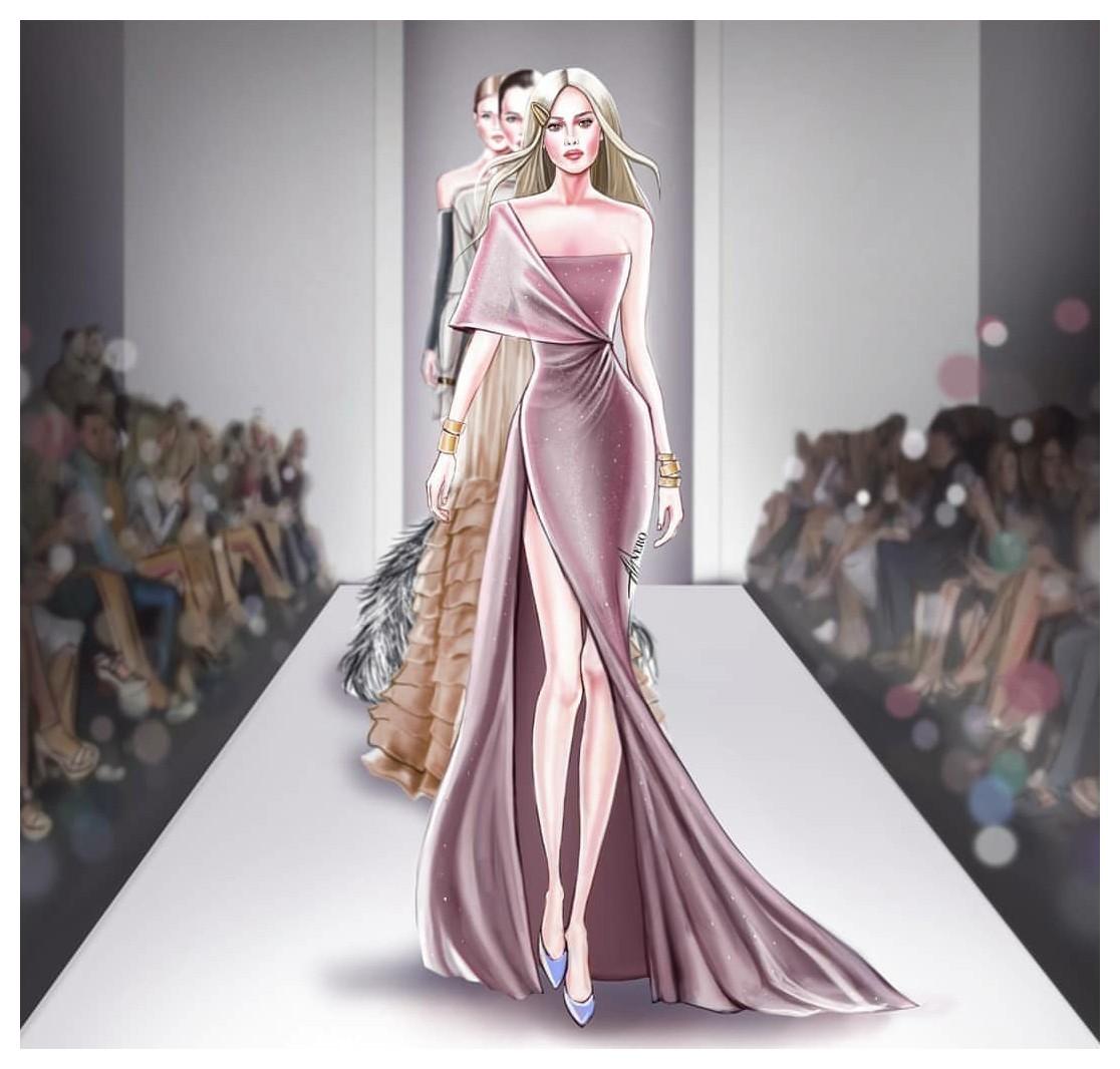 Fashion Illustration Designer Ahvero Studio
