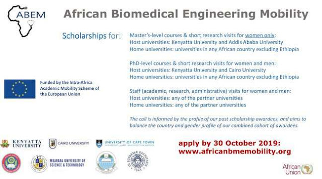 Fully Funded: African Biomedical Engineering Mobility (ABEM