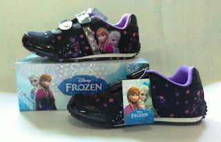 Sepatu Anak Perempuan Gambar Frozen