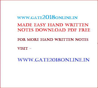Download Electrical Machine Made Easy Hand Written Notes pdf for GATE PSU | Study Strategy Plan