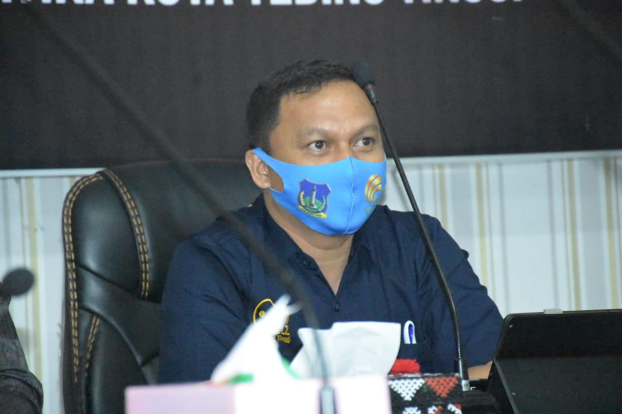 Walikota Tebingtinggi Himbau Masyarakat Menjaga Kesehatan dan Kerukunan Dimasa Pandemi Covid-19