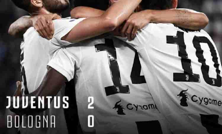 Hasil Juventus vs Bologna Skor Akhir 2-0
