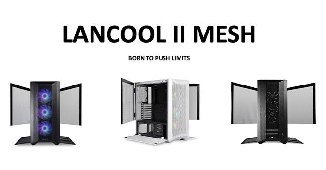 LianLi LAN Cool II Mesh RGB